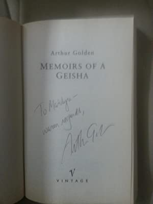 Memoirs of a Geisha +++SIGNED+++: Golden, Arthur