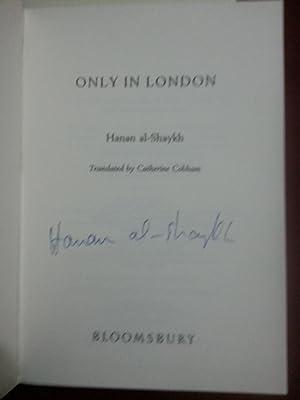 Only in London W2 +++Signed 1st+++: Hanan Al-Shaykh
