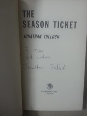 The Season Ticket +++SIGNED 1st+++: Jonathan Tulloch