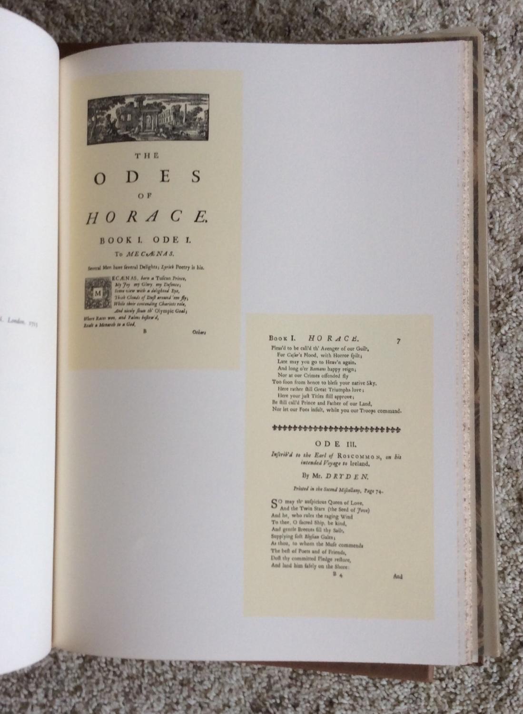 Horace Odes Translation