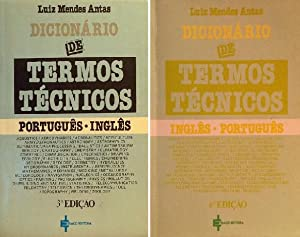 Dicionário de termos técnicos Português-Inglês English-Portuguese (2: Mendes Antas, Luiz