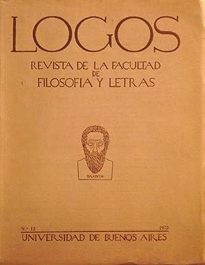 Logos (Revista de la Facultad de Filosofia: VV. AA.