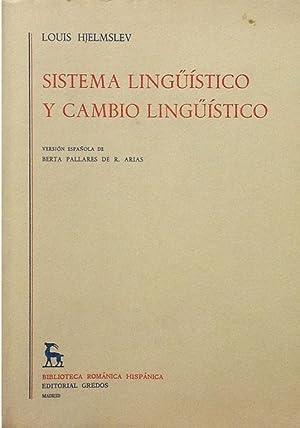 Sistema lingüístico y cambio lingüístico.: Hjelmslev, Louis
