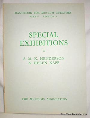 Handbook For Museum Creators, Part F, Section 2 (Special Exhibitions)