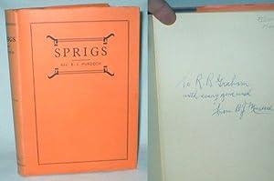 Sprigs (Signed): Murdoch, Rev. B.J.
