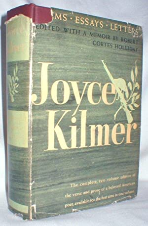 Joyce Kilmer; Poems, Essays, and Letters; Two: Holliday, Robert Cortes