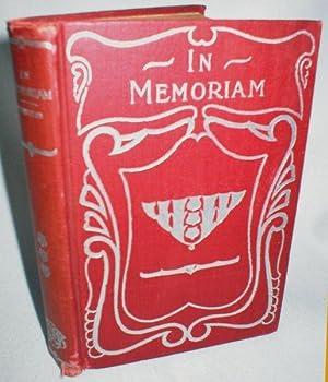 In Memoriam; The Lover's Tale: Tennyson, Alfred Lord