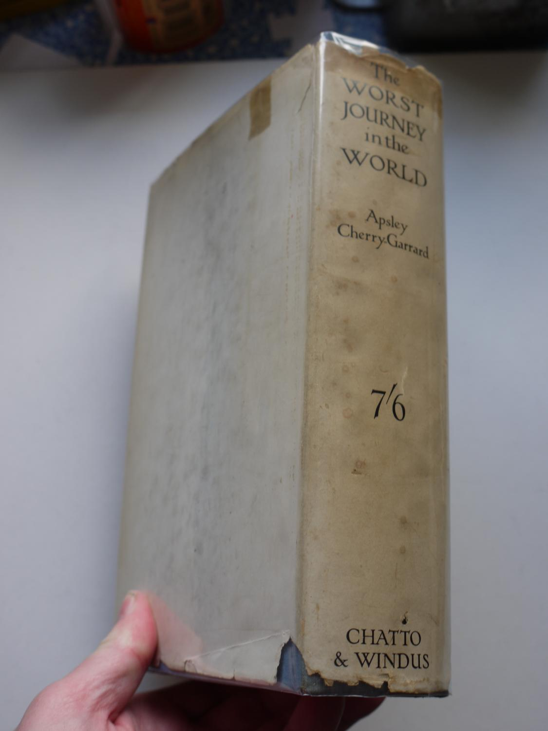 THE WORST JOURNEY IN THE WORLD Antarctic 1910 1913 One Volume