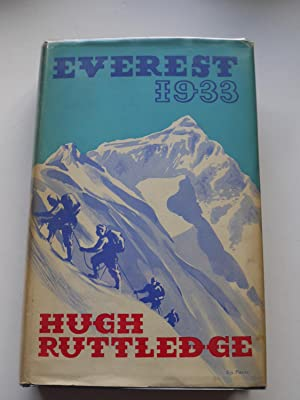 EVEREST 1933,: RUTTLEDGE HUGH,