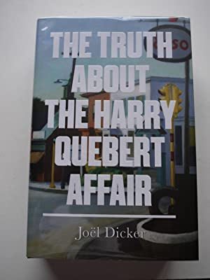 THE TRUTH ABOUT THE HARRY QUEBERT AFFAIR **Stamped Limited Edition, Signed, bookmark **