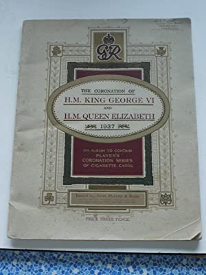 THE CORONATION OF H.M. KING GEORGE VI: unknown
