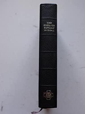 THE ENGLISH SUNDAY MISSAL. English Edition edition: compiled by SYLVESTER