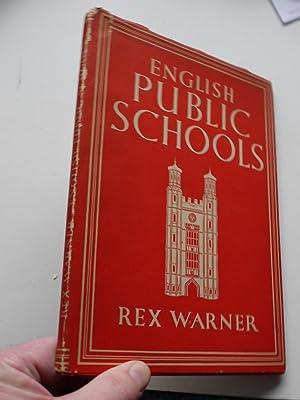 a4deb2a22 ENGLISH PUBLIC SCHOOLS. Britain in Pictures series.: REX WARNER