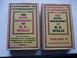 EXPERIMENTAL AUTOBIOGRAPHY. 2 Volume set. **with Dust: H.G.WELLS
