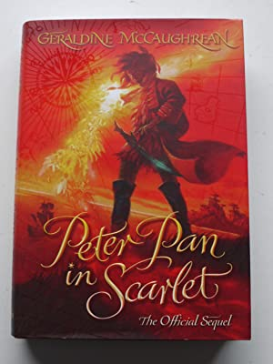 PETER PAN IN SCARLET ** Signed * Bookmark **