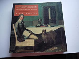 AUTHENTIC DECOR the domestic interior 1620-1920