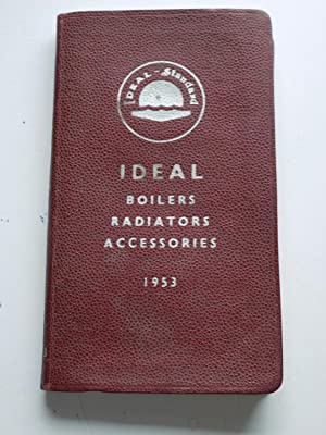 IDEAL BOILERS RADIATORS ACCESSORIES 1953