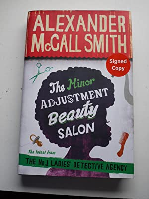 THE MINOR ADJUSTMENT BEAUTY SALON ** Signed **