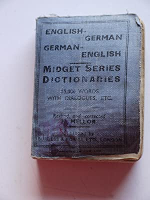 english to german dictionary book
