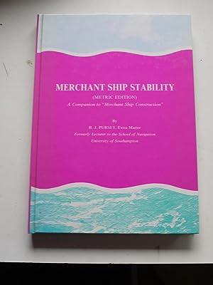 MERCHANT SHIP STABILITY ( Metric Edition ): H.J.PURSEY