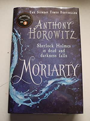 MORIARTY ** Signed * Limited Edition * Bookmark **
