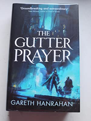 THE GUTTER PRAYER book one of the Black Iron Legacy ** Limited Edition * Signed **