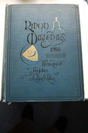RIPON MILLENARY 1886 a record of the: various