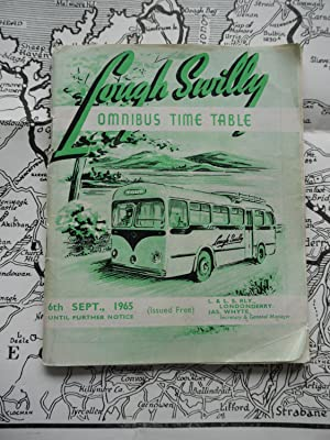 LOUGH SWILLY Omnibus Time Table. 6th September: unknown.