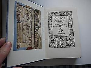 ROME painted by Alberto Pisa.: TUKER & HOPE MALLESON