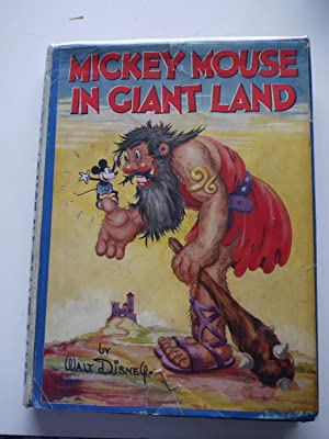 MICKEY MOUSE IN GIANTLAND. *** with scarce: WALT DISNEY