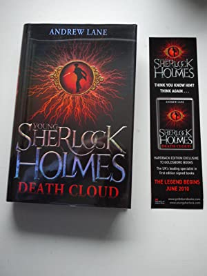 YOUNG SHERLOCK HOLMES DEATH CLOUD *** Limited * Signed *** Bookmark ***