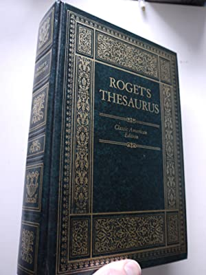 ROGET'S THESAURUS of english words and phrases,: ROGET