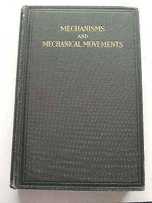MECHANISMS AND MECHANICAL MOVEMENTS: FRANKLIN D.JONES