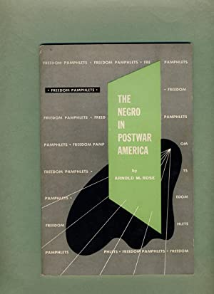 The Negro in Postwar America.: Arnold M. Rose