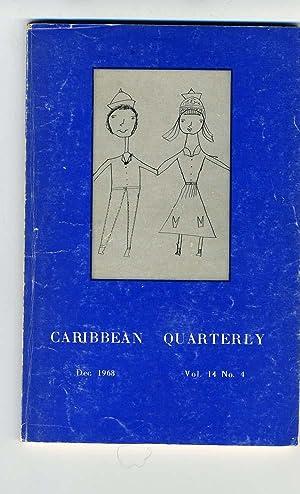 Caribbean Quarterly: Volume 14, Number 4, December 1968.: Wilfred L David, Joyce Walker, B. C. ...