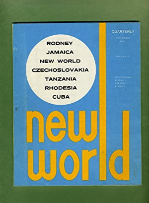 New World Quarterly: A Journal of Caribbean: George Beckford, editor,