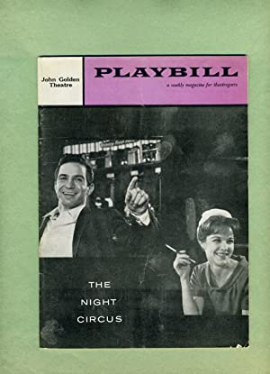 THE NIGHT CIRCUS -- Playbill -- Volume 2, Number 48, December 1, 1958: PREMIERE PERFORMANCE.: JAY ...