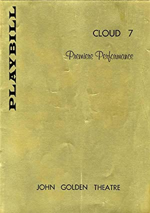 CLOUD 7 -- Playbill -- February 14, 1958: PREMIERE PERFORMANCE.: MAX WILK, author; presented by ...