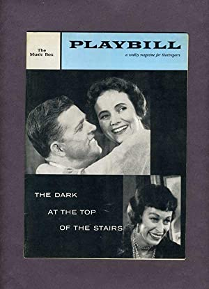 THE DARK AT THE TOP OF THE STAIRS -- Playbill -- Volume 2, Number 15, April 14, 1958.: WILLIAM INGE...