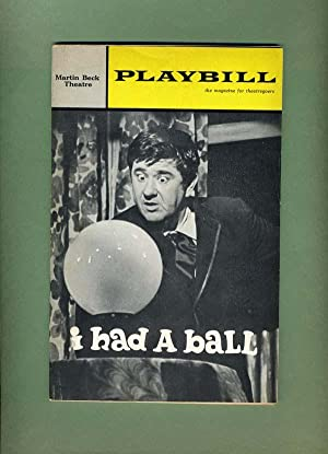 I HAD A BALL Playbill -- Volume: Jerome Chodorov, Jack