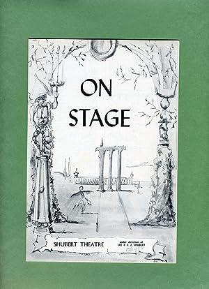 HAPPY HUNTING Playbill/Program: Week of November 19, 1956 with FERNANDO LAMAS: Howard Lindsay,...
