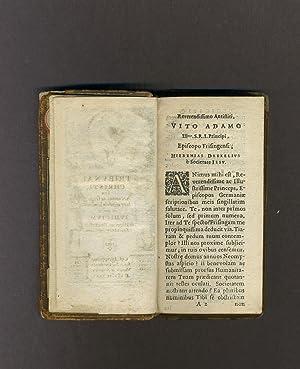 TRIBUNAL CHRISTI, seu arcanum ac singulare cujusvis hominis in morte iudicium: Drexel Jeremias [...