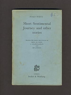 Svevo Italo Short Sentimental Journey And Other Stories Abebooks