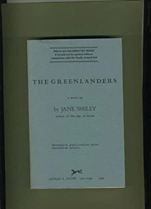 The Greenlanders: Jane Smiley (SIGNED)