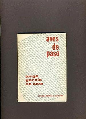 Aves de Paso: Jorge Garcia de Luca (SIGNED)