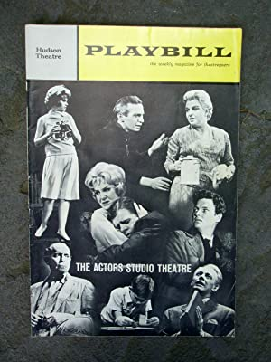 STRANGE INTERLUDE Playbill: May 20, Vol. (Volume) 1 No. (Number) 13, 1963: Eugene O'Neill