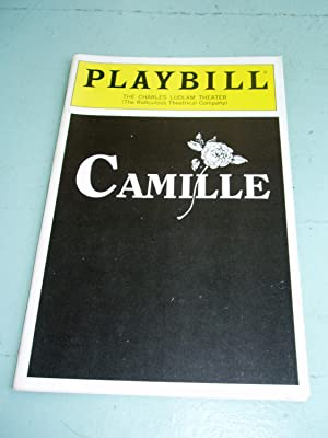CAMILLE (a tearjerker) Playbill Program: Volume 91, Number 1, January 1991: Charles Ludlam