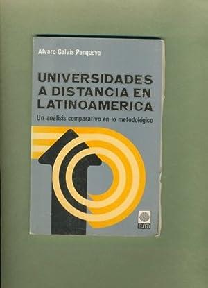 Universidades a Distancia En Latinoamerica: Un Analisis Comparativo En Lo Metodologico: Galvis ...