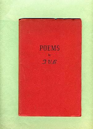 Poems: T. V. B. (Theresa Virgina Beard)