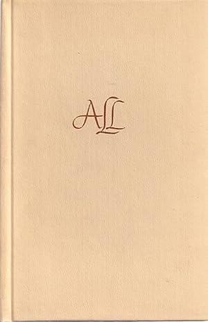 THE POEMS OF ALICE LAVINIA LONG: Long, Alice Lavinia